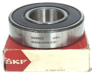 NIB SKF MRC 309SZZ PRECISION BALL BEARING 6309-2RS/CS
