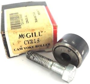 MCGILL PRECISION BEARINGS CYR1S CAM YOKE ROLLER, CYR-1-S