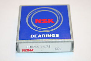 NSK 6807VV NS7S Ultra Thin Sealed Deep Groove Bearing 6807-VV * NEW *