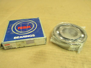 NIB NSK 6309C3 BEARING NO SHIELDS 6309 C3 45x100x25 mm