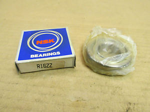 NIB NSK R16ZZ BEARING METAL SEALED R16 ZZ 1x2x1/2""