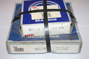 NSK NU-220-W Cylindrical Bearing NU220W NEW
