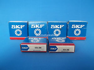 SKF 626 JEM Deep Groove Roller Bearing (New, Lot of 6)