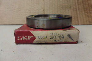 SKF Bearing 6013 2RS/EM 60132RSEM 6013-2RS1/C3 Made in Sweden New