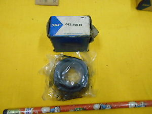 SKF GEZ 100 ES SPHERICAL PLAIN BEARING 1 x 1 5/8 x 0.875