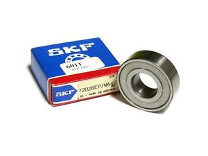NEW SKF 7202BEP / W64C BALL BEARING 15 MM X 35 MM X 11 MM