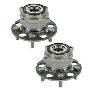 TIMKEN HA590204 Rear Wheel Hub & Bearing Pair Set of 2 For Honda CR-V CRV RDX