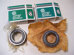 LOT OF 2 NEW NAPA TIMKEN TAPERED ROLLER BEARINGS SET #8 L45449 L45410