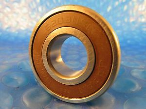Nachi 62032NSE, 6203 2NSE, Single Row Ball Bearing (=SKF 2RS, NSK VV, FAG)