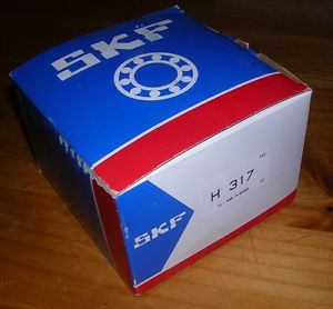 """SKF H317 75MM (2.952"""")ADAPTER SLEEVE WITH LOCKNUT AND WASHER NEW IN ORIGINAL BOX"""