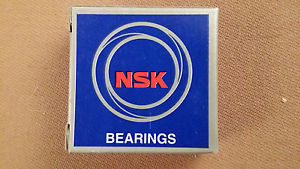 Lot of 6 NSK 6204ZZ Deep Groove Ball Bearings new in box FREE SHIPPING