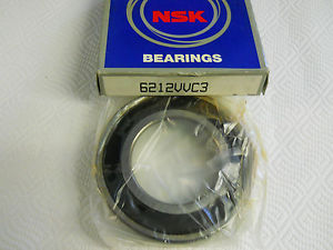 NSK 6212VVC3 SEALED BALL BEARING 60 X 110 X 22MM 01522 NEW CONDITION IN BOX