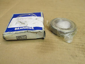 NIB NSK 6009ZZC3 BEARING METAL SEALED 6009 ZZ C3 6009ZZ C3 45x75x16 mm