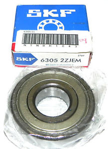 NIB SKF 63052ZJEM SINGLE ROW BALL BEARING 6305 2ZJEM