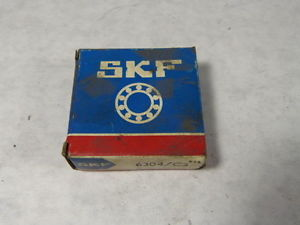 SKF 6304/C3 Ball Bearing 20 x 52 x 15mm ! NEW !