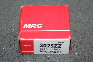 MRC 302 SZZ (SKF 6302 2RSJEM) Deep Groove Bearing, NEW condition