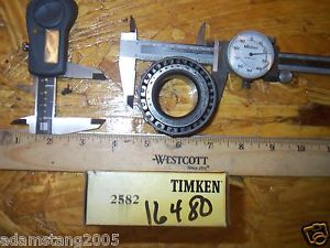 new TIMKEN 2582 TAPERED CONE BEARING