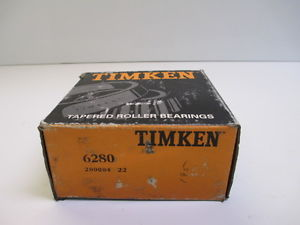 TIMKEN 6280 SINGLE CONE TAPERED ROLLER BEARING MANUFACTURING CONSTRUCTION NEW