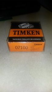 Timken 07100 Tapered Roller Bearing Cone