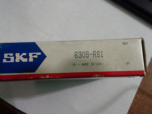 SKF 6309-RS1 ONE SIDE SHIELDED BALL BEARING – NEW & UNUSED IN BOX