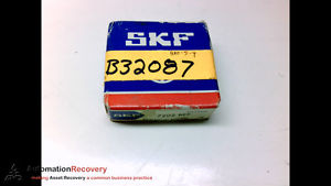 SKF 7202 BEP ANGULAR CONTACT BEARING 15MM ID 35MM OD 11MM WIDTH, NEW #182373
