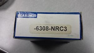 6308NR SKF 40 X 90 X 23 Open with Snap Ring Deep groove Ball Bearing