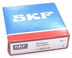 NIB SKF 6207-2RSJEM BALL BEARING 72X35X17MM 62072RSJEM
