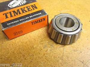 "TIMKEN 3189 BEARING TAPERED ROLLER SINGLE CONE 1"" BORE NEW"