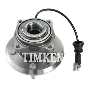 Wheel Bearing and Hub Assembly Rear TIMKEN HA590264