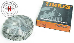 """TIMKEN 25520TAPERED ROLLER BEARING CUP, OD: 3.265"""", WIDTH: .750"""""""