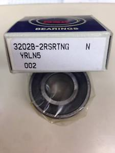 NSK 3202B2RSRTNG Double Row Ball Bearing Germany Made