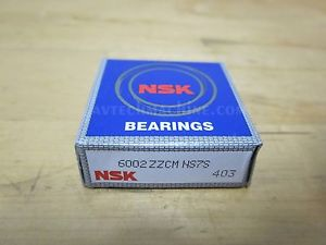 NSK BEARING DEEP GROOVE BALL BEARING  6002ZZ