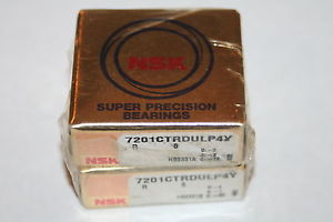 NSK 7201 CTRDULP4Y Super Precision Bearings (Fafnir 2MM201.WI.DUL) * NEW *