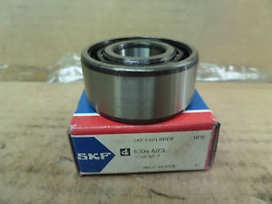 SKF Angular Contact Ball Bearing 5204 A/C3 5204AC3 New