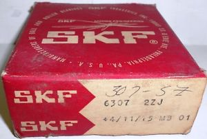 SKF 6307 2ZJ BEARING, 35 X 80 X 21 MM