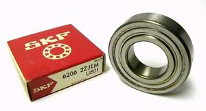 NEW SKF 6206-2ZJEM SHIELDED BALL BEARING 30 MM X 62 MM X 16 MM (4 AVAILABLE)