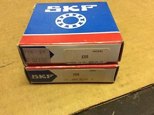 2-SKF,bearings#6306,30day warranty, free shipping lower 48!