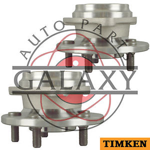 Timken Pair Front Wheel Bearing Hub Assembly For Jeep Tj & Wrangler 1997-1999