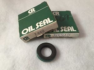 "Lot of 2 SKF Chicago Rawhide 7440 Oil Seals 11/16""ID, 1-1/4""OD, 1/4""W"