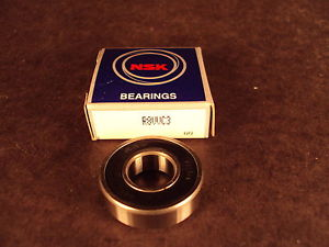 NEW, NSK R8 VV C3,R8VV C3, Bearing,(see MRC ZZ, NTN LUU,SKF 2RS)