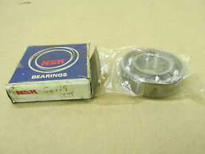 1 NIB NSK 6205 C3 6205C3 SINGLE ROW BALL BEARING NO SHIELD 25 X 52 X 15 MM NEW