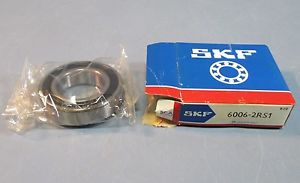 SKF 6006-2RS1 Sealed 30 x 55 x 13mm Deep Groove Ball Bearing NIB