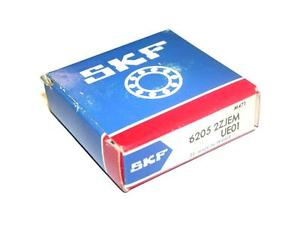 BRAND NEW IN BOX SKF BALL BEARING 6205 2ZJEM (2 AVAILABLE)