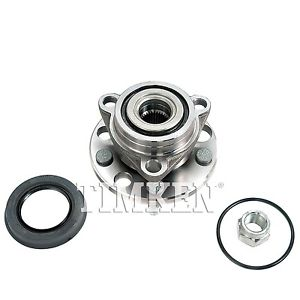 Wheel Bearing and Hub Assembly Front TIMKEN 513017K