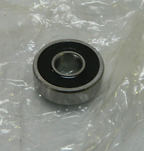 New SKF Single Row Radial Ball Bearing, # 608-2RSJ/EM, WARRANTY