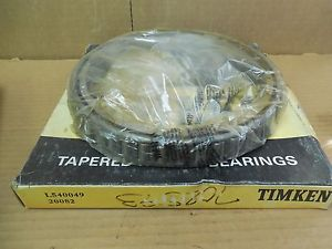 Timken Tapered Roller Bearing L540049 20082 New