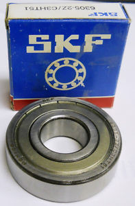 SKF BEARING 6305-2Z/C3HT51, 6305-2Z, 25 X 62 X 17 MM