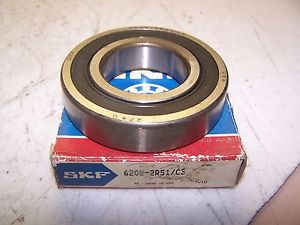 NEW SKF 6208-2RS1/C3 BEARING 62082RS1C3