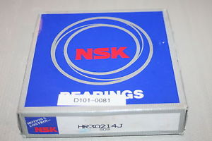 NSK HR30214J Tapered Cone & Cup Bearing Assembly, NEW & Unopened