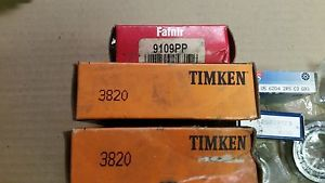 Lot of 8 assorted Bearings, Fafnir, TImken, Koyo, Ors, Nsk